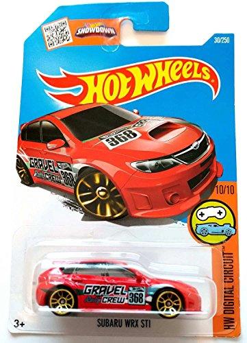 hot-wheels-subaru-wrx-sti-red-30-250-long-card-by-mattel
