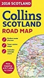 2016 Collins Map Of Scotland (New Edition)