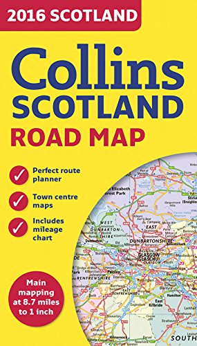 2016 Collins Scotland Road Map