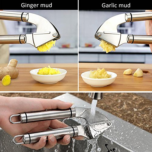 Beegod Grillers Garlic Ginger Press Crusher Squeeze Tool
