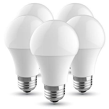 V-TAC Bombilla LED E27, 10 W equivalente a 60 W, 806 lúmenes