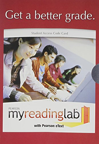 The Skilled Reader, Books a la Carte Plus MyReadingLab -- Access Card Package (3rd Edition)