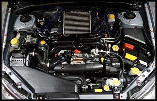 08 Platform Pump (ZSPEC Engine Dress-Up Fastener Kit 2008-2014 Subaru WRX STi, Emerald-Green Washers)