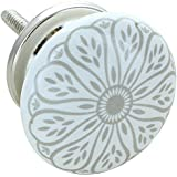G Decor England Set of 8 Success Ceramic Door Knobs Contemporary Cabinet Pulls for Cabinets, Drawers and Dressers…