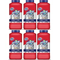 Resolve Carpet Cleaner Powder, 18 oz Bottle, For Dirt & Stain Removal, 6-Pack