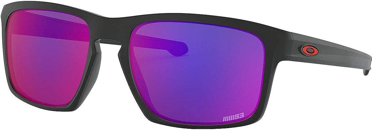 Oakley Sliver (55 mm) Gafas de sol, Negro, 57 Unisex-Adulto