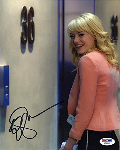 Emma Stone Amazing Spiderman Autographed Signed 8X10 Photo Certified -