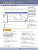 Google Docs Reference and Cheat Sheet: The unofficial cheat sheet reference for Google s free online word processor