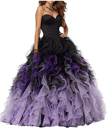 新品 ALfany Charming Sweetheart Ball Gown Floor Length Flouncing Quinceanera Dresses Clor Accented Wedding Dresses Us20W