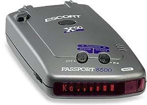 escort passport 8500 x50 radar and laser detector red display cell phones. Black Bedroom Furniture Sets. Home Design Ideas