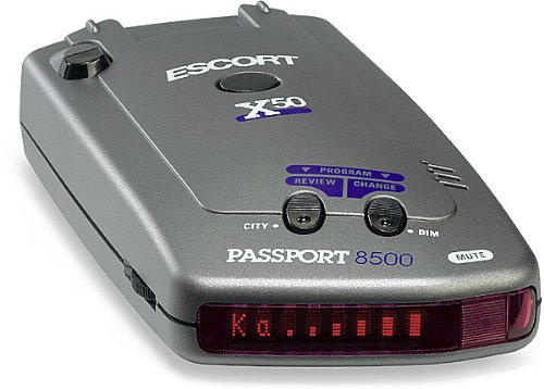 Escort Passport 8500 Detector Display product image