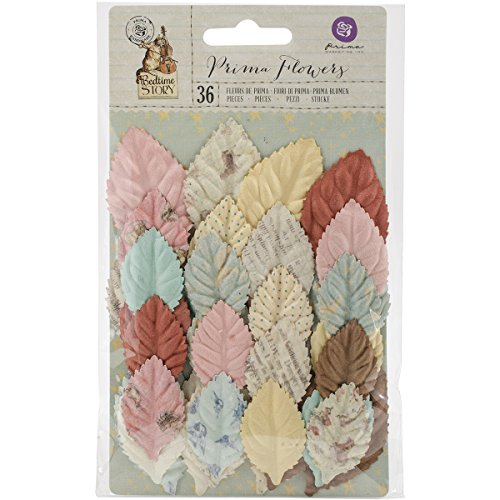 Prima Marketing Bedtime Story Mulberry Paper Flowers-Winnie ()