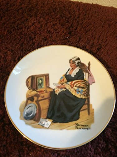 (Norman Rockwell Collectors Plate