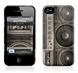 GelaSkins iPh4THC-BB The HardCase for iPhone 4/4S - 1 Pack - Retail Packaging - Boombox