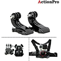 Action Pro 2xJ Hook Quick Release Buckle for GoPro Hero Sjcam Xiaomi yi(Black)