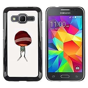 Paccase / SLIM PC / Aliminium Casa Carcasa Funda Case Cover para - Abstract Minimalist Kid Cute - Samsung Galaxy Core Prime SM-G360