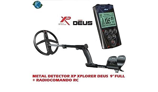 DETECTOR DE METALES XP XPLORER DEUS CON PLACA 9