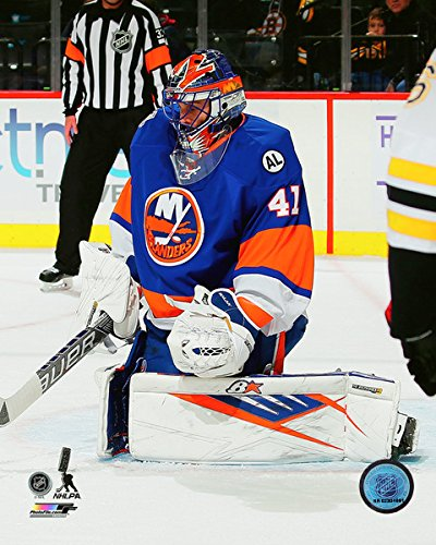 quality design 89250 5d8a4 Amazon.com: Jaroslav Halak New York Islanders 2015-16 NHL ...