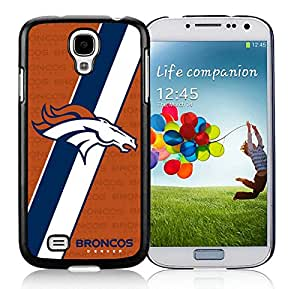 Denver Broncos 03 Black For Samsung Galaxy S4 Case Genuine and Cool Design