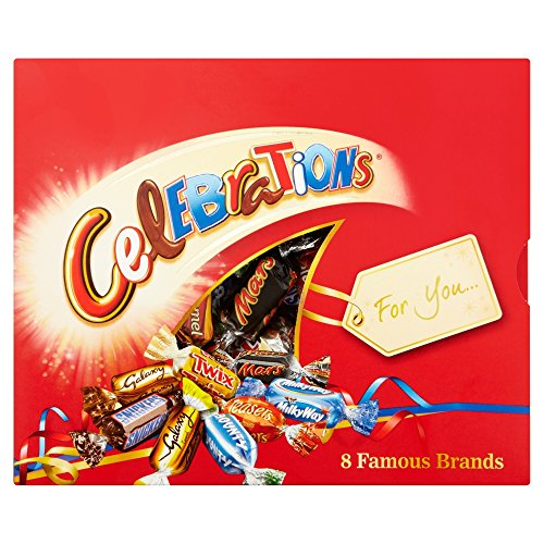 Mars Celebrations Chocolate Gift Pack, 320 g