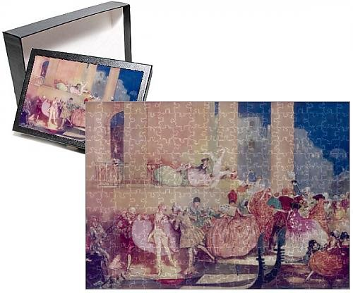 Photo Jigsaw Puzzle Of Carnival In Venice By C. H. (Venice Carnival Costumes History)