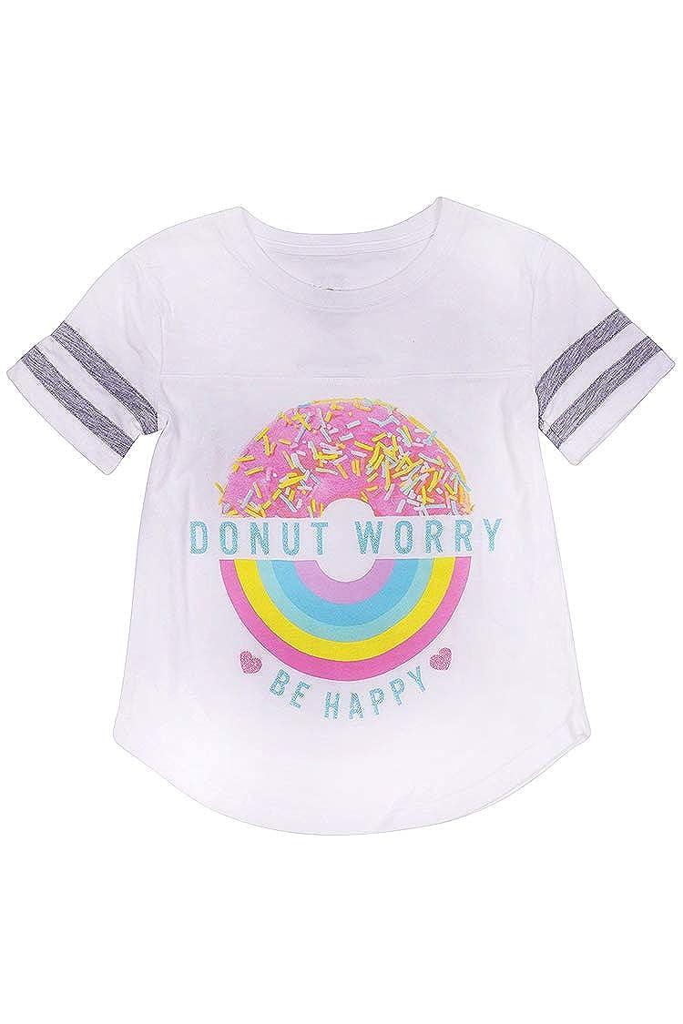 Big Girls Donut Worry Graphic Tee Grayson Shop HY2497DNUT