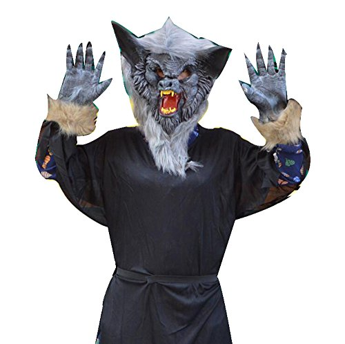 Scare masquerade glove Vampire clothes wolf glove party costumes sets