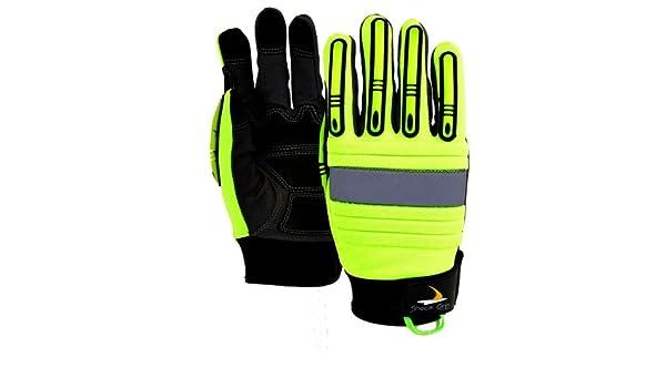 Green Hiv-Vis Seattle Glove GR2010-M Gloves Medium