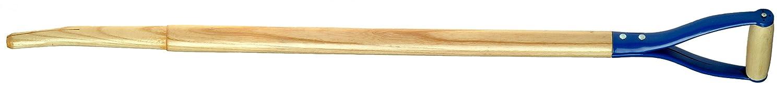 "Link Handles - 66716 Bent Hollowback Shovel/Scoop Handles With Shoulder and Steel D-Grip, 1-1/2"" Diameter (Various Length and Models: 30"" - 42""), 30"" Length, Model 829-18"