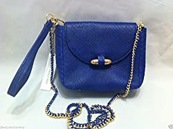 CC Skye the Bullet Crossbody in Electric Blue Bag Clutch