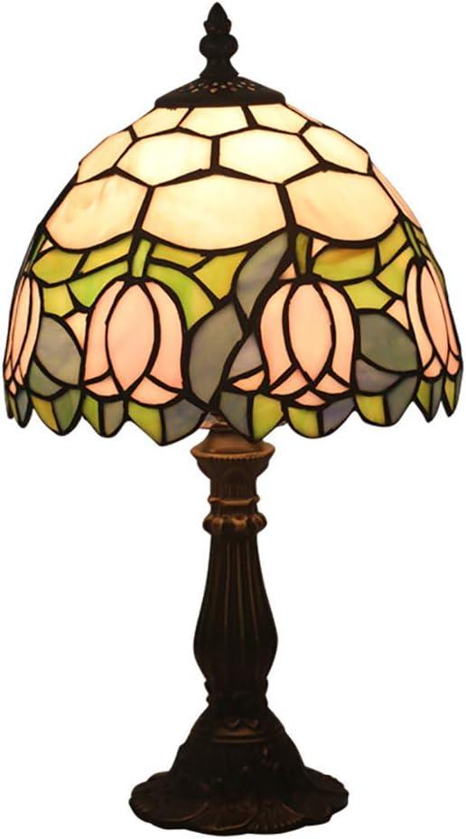 Lámpara De Mesa Estilo Tiffany Hecha A Mano Led Lámpara De Mesa ...