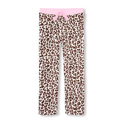 The Children's Place Big Girls' Lounge Pant, Parchment, S (5/6) (Lounge Leopard Pants)