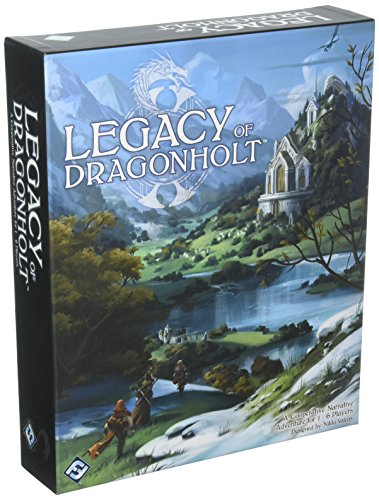 Fantasy Flight Games Legacy of Dragonholt RPG