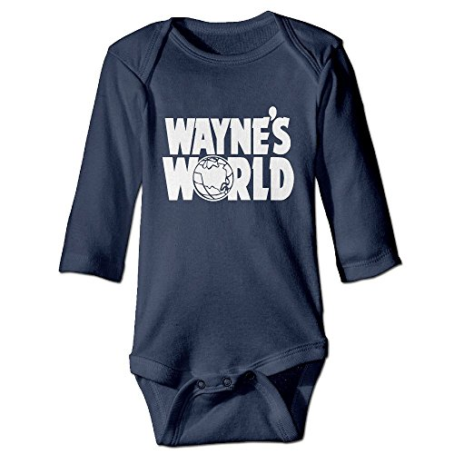 Wayne's World Long Sleeve Snewborn Bodysuit