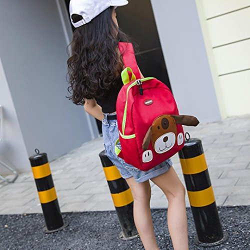 Toddler Pattern Red Cartoon EUzeo Baby Kids Boys School Bag Bags Dog Backpack Girls 7USw4W7