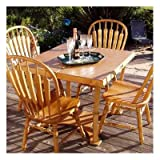 Spiderlegs Folding Picnic/Project Table, 42-Inch, Dark Walnut