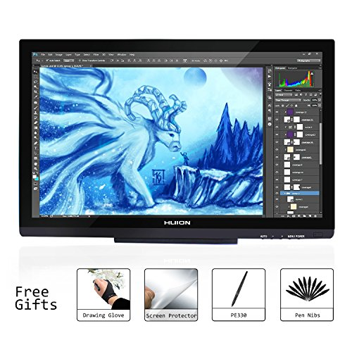 Huion 21.5 ' HD Pen Display Graphic Drawing Monitor for Windows and Mac...