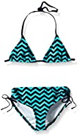 Kanu Surf Big Girls Alexa Bikini Swimsuit, Blue, 7