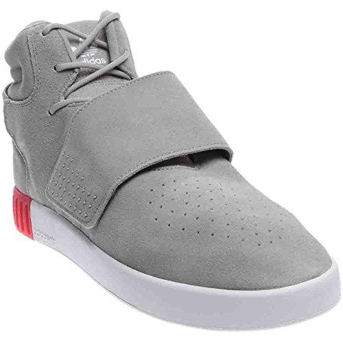 Adidas Originals Mens Tubular Invader Strap Shoes Seasame