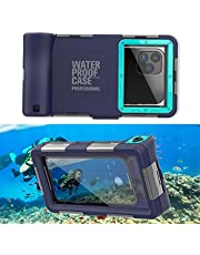Professional [15m/50ft] Diving Phone Case for All Samsung Galaxy/Apple iPhone Series, Waterproof Cell Phone Cover with Lanyard for Outdoor Surfing Swimming Snorkeling Photo Video