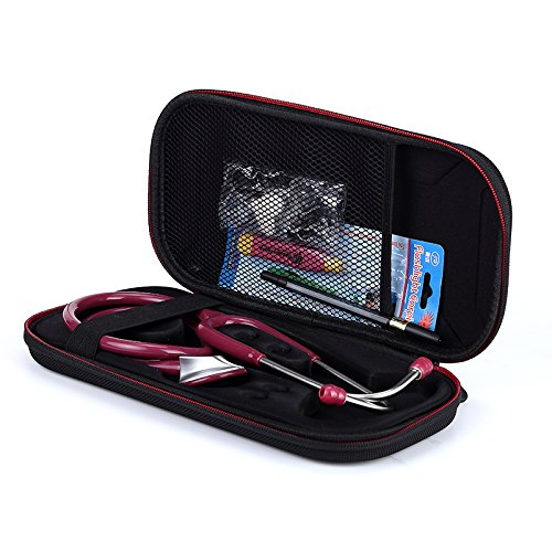 Hard Carrying Case Cover 3M Littmann/MDF/ADC/Omron Stethoscope/Hard Drive/SSD/Pen/Other Accessories