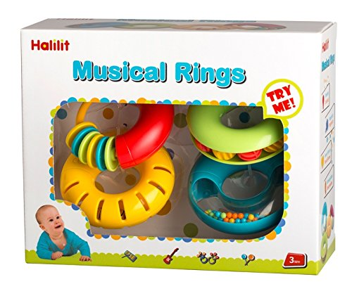 - Edushape Musical Rings Baby Toy