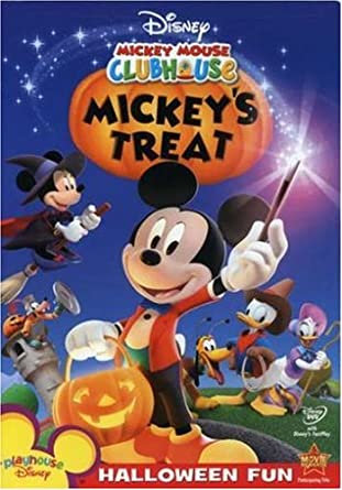 Mickey Mouse Halloween Picture | Amazon Com Mickey Mouse Clubhouse Mickey S Treat Tony Anselmo