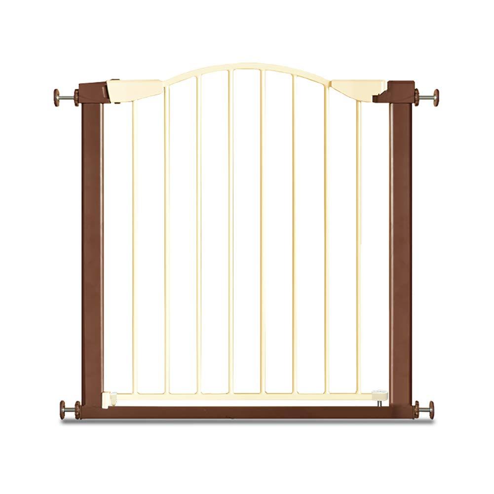 65-68cm Safety Gate Adjustable Metal Pet Fence for Kitchen Hallways Bedroom Indoor Safety Gates (Size   65-68cm)