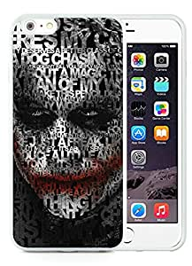 iPhone 6 Plus Case,Excellent protection Joker 14 White For iPhone 6 Plus(5.5) TPU Case