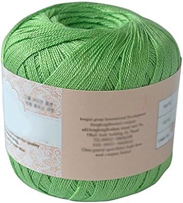Steellwingsf hilo de hilo de algodón mercerizado para bordar ...