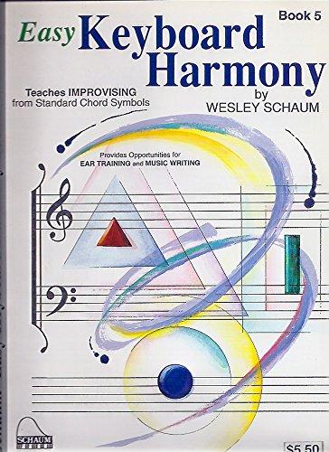Easy Keyboard Harmony, Book Five
