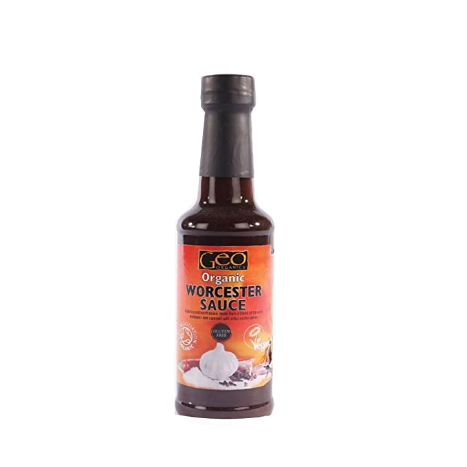 Geo Organics | Worcestershire Sauce - organic | 4 x 150ml