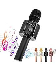 سماعات الكاريوكي بلوتوث من انكوكا، 3 في 1 بميكروفون لاسلكي متعدد الوظائف لآيفون، أندرويد، ميكروفون محمول لـ KTV، المنزل، غناء الحفلات