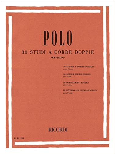 30 STUDI A CORDE DOPPIE VIOLINO